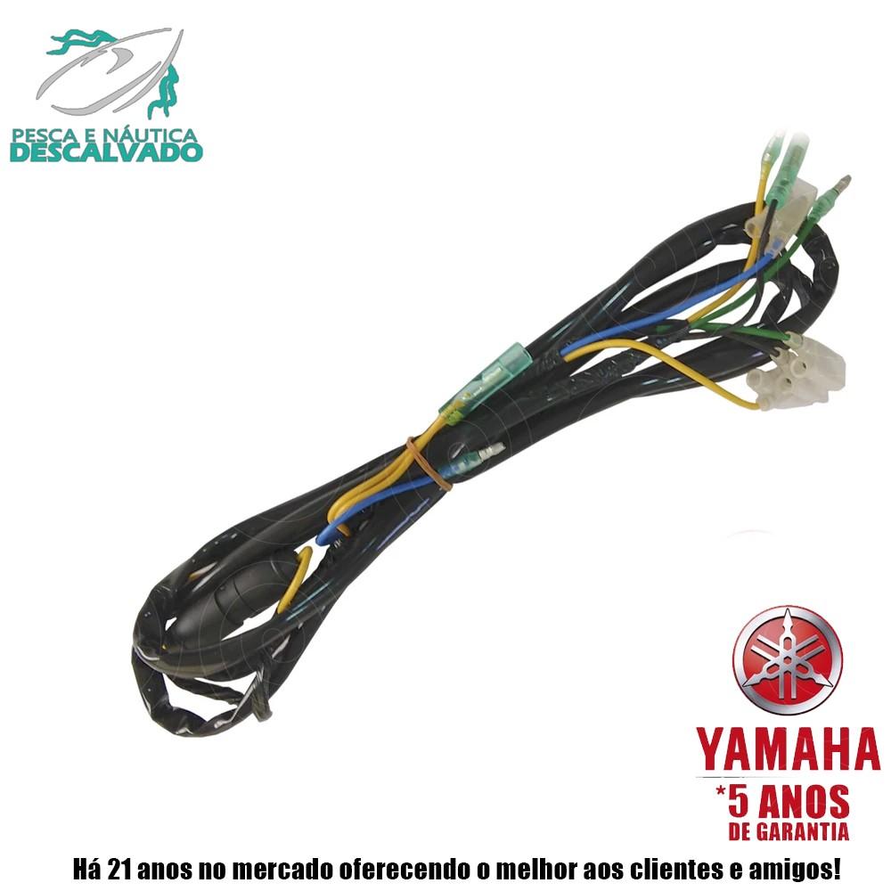 MOTOR DE POPA YAMAHA 2 TEMPOS 40HP AWS (Elétrica)