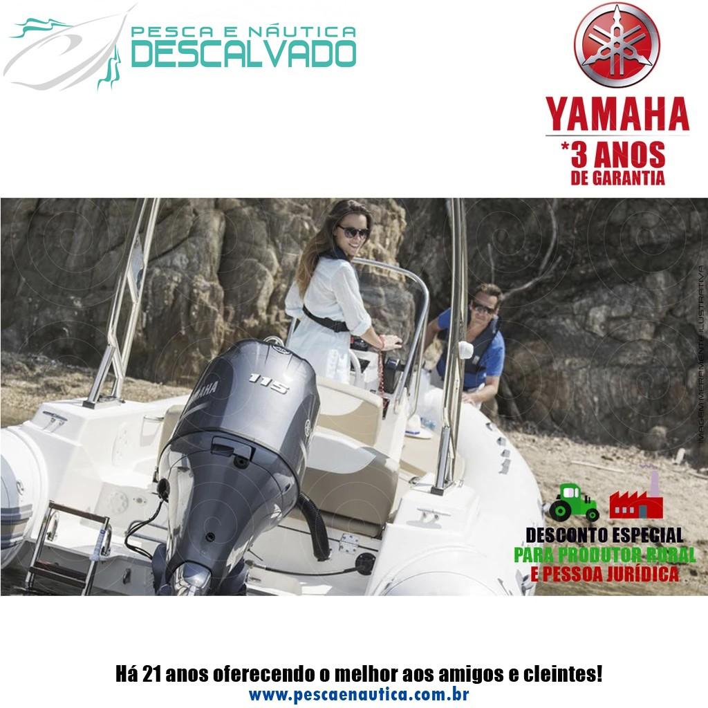 Motor De Popa Yamaha 4 Tempos F 115HP BETL