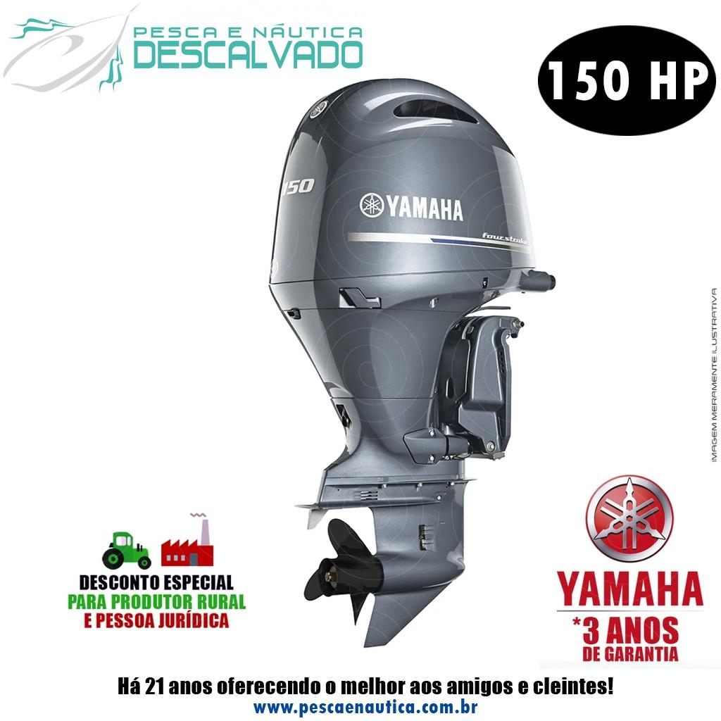 Motor De Popa Yamaha 4 Tempos F 150HP DETX
