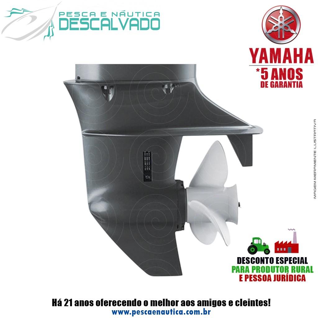 Motor De Popa Yamaha 4 Tempos F 20HP BMHS Partida Manual