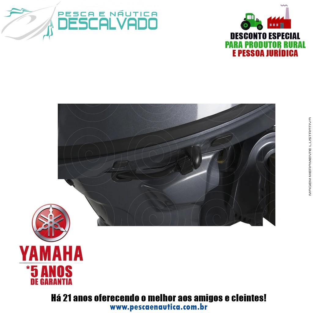 Motor De Popa Yamaha 4 Tempos F 25HP GMHS Partida Manual