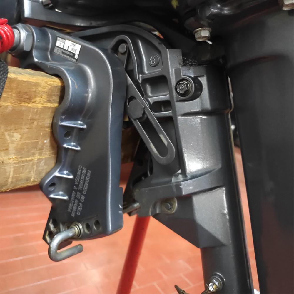 Motor de Popa Yamaha 15 HP 2 Tempos - Semi-novo