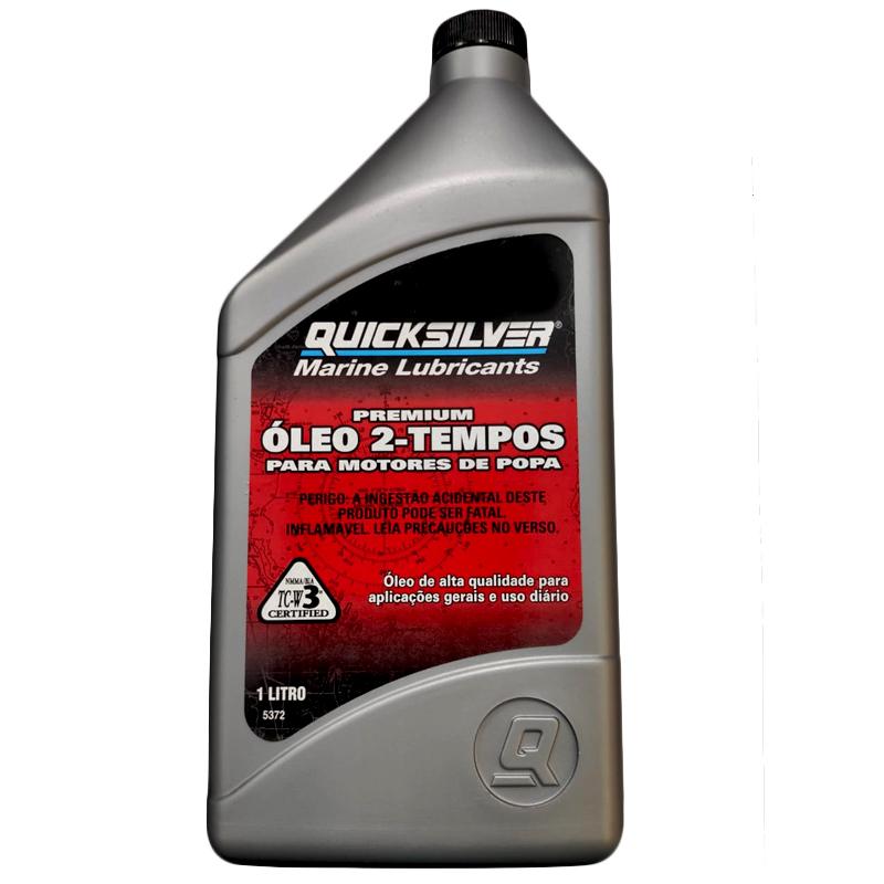 Oléo 2 Tempos QuickSilver TC-W3 1Litro Importado