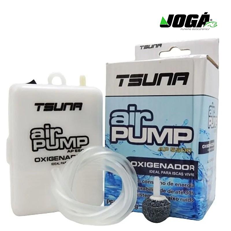 Oxigenador para Iscas Vivas Air Pump AP5500 Tsuna