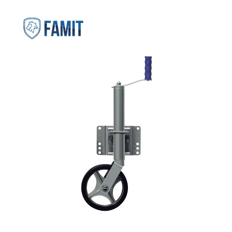 Pedestal P1 com Roda para Carretinha - Famit