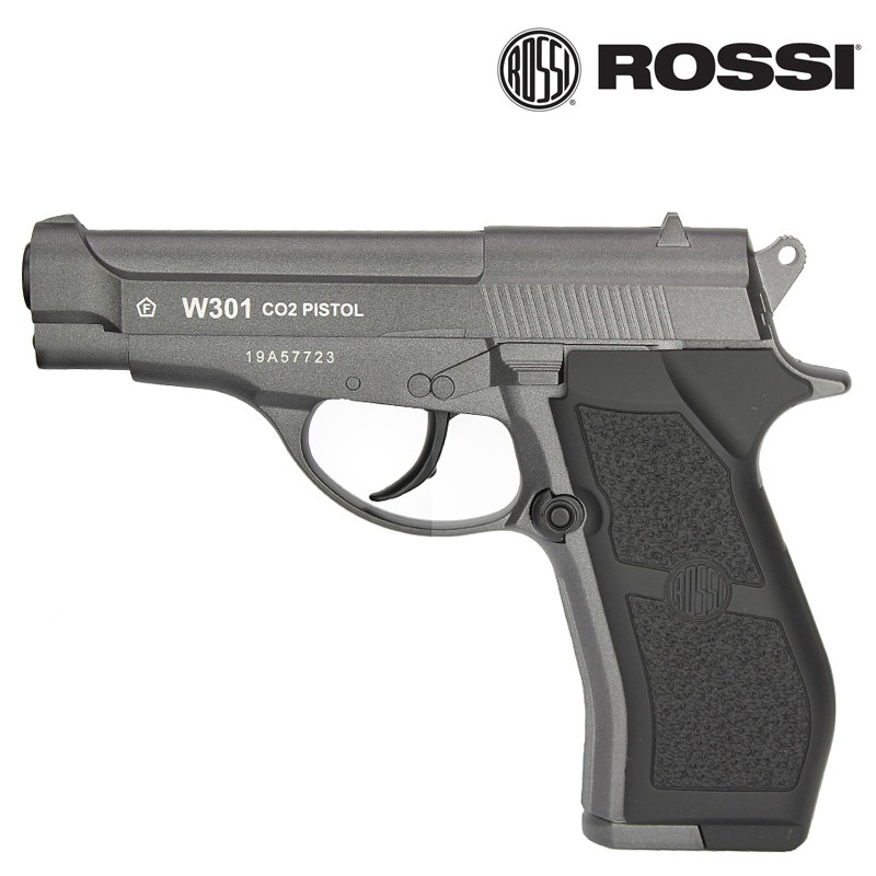 Pistola de Pressão Gás CO2 W301 4.5 Full Metal