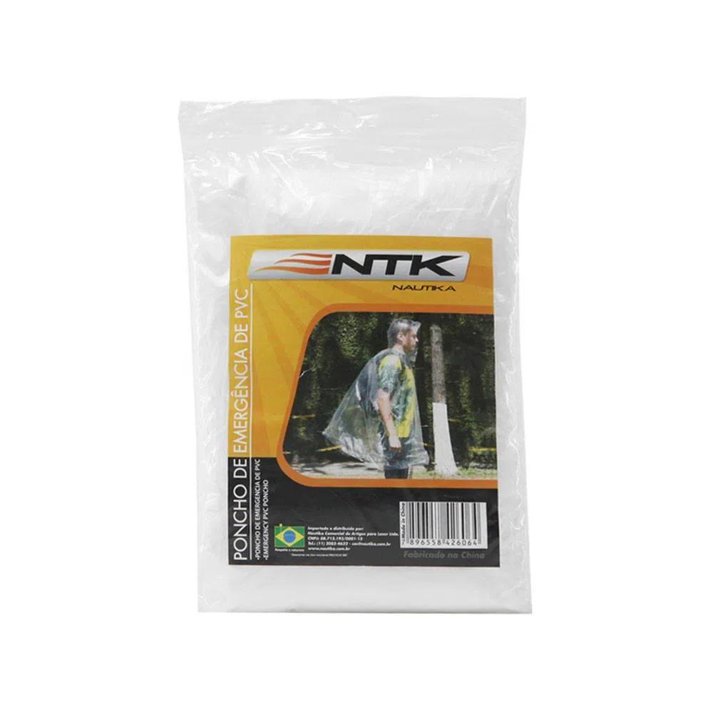 Poncho de Emergência de PVC - Nautika
