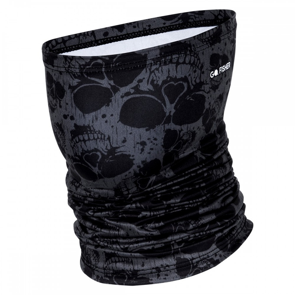 Tube Neck Go Fisher Skull 27 Proteção UV