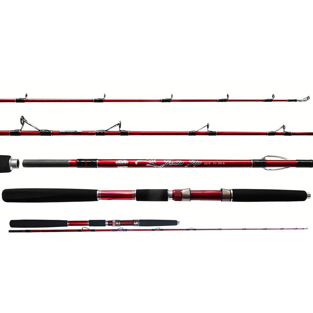 Vara Molinete Jetta 1.98M 15-30LBS 2 Partes - Albatroz Fishing