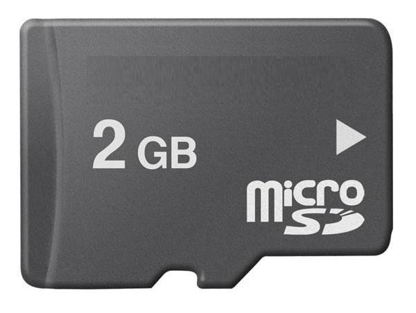 Cartão de Memória MicroSD 2GB