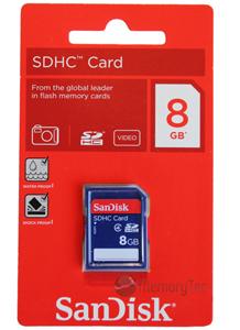 Cartao de Memoria Sdhc 8GB Sandisk classe 4