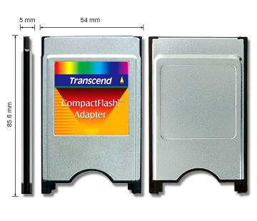 Adaptador TRANSCEND CF Pcmcia - TS0MCF2PC