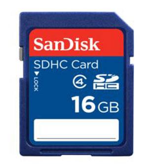 Cartao de Memoria Sdhc 16GB Sandisk classe 4