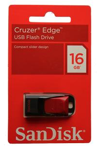 Pen drive Sandisk Cruzer Edge 16GB