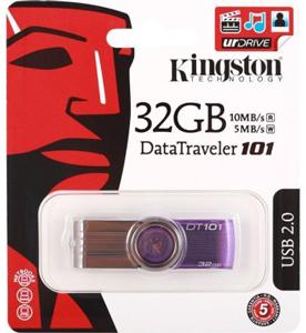 Pen drive Kingston 32GB DataTraveler 101 Generation 2