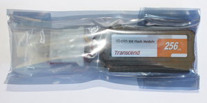 IDE Flash Module DOM 40 Pinos 256MB Transcend