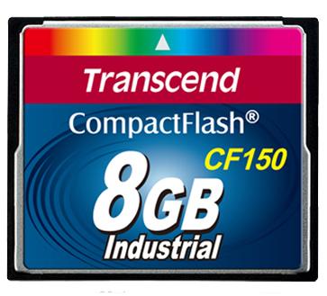 Cartão de memória Compact Flash CF Transcend 8GB 150X Industrial