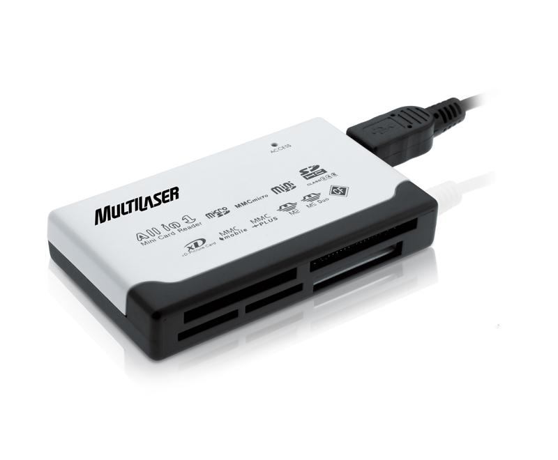 Leitor de cartão Multilaser USB 2.0