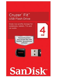 Pen Drive Sandisk Cruzer Fit 4GB