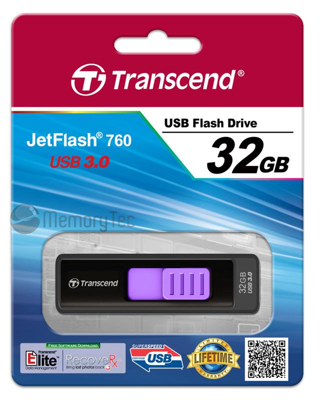 Pen drive Transcend 32GB JetFlash 760 USB 3.0