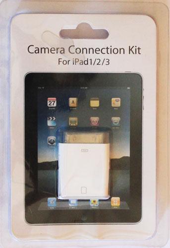 Adaptador de Cartão SD para iPad