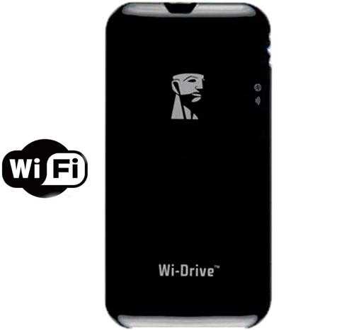 Wi-Drive Kingston 16GB - Armazenamento Portátil Wi-Fi