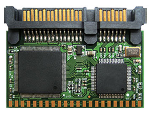 Módulo Flash SATA Transcend 22 Pinos 2GB Vertical