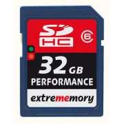 Cartao Memoria SDHC 32GB Class 6 Extrememory Performance