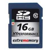 Cartao Memoria Sdhc 16GB Class 10 Extrememory HyPerformance