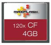 Cartão de Memória Cf 4GB Maxflash 120x