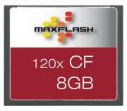 Cartão de Memória Cf 8GB Maxflash 120x