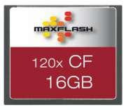 Cartão de Memória Compact Flash CF 16GB Maxflash 120x