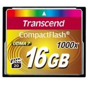 Cartão de Memória CompactFlash CF 16GB Transcend Ultimate 1000x