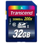 Cartão de Memória SDHC 32GB Transcend  Classe 10