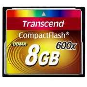 Cartão Memória CompactFlash CF 8GB Transcend Ultimate 600x