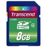 Cartao de Memoria SDHC 8GB Transcend