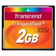 Cartao Memoria Compact Flash CF 2GB Transcend 133x