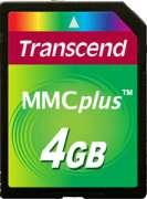 Cartão de Memória MMC Plus Transcend 4GB