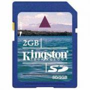 Cartão de memória Kingston SD 2GB