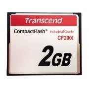 Cartão de memória CompactFlash CF Transcend 2GB TS2GCF200I 200x Industrial Grade
