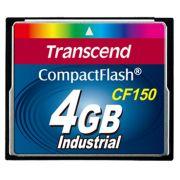Cartão de memória Compact Flash CF Transcend 4GB 150X Industrial