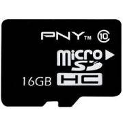 Cartão de Memória MicroSDHC PNY 16GB Classe 10