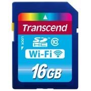 Cartão de Memória Wi-Fi SDHC Transcend 16GB Classe 10