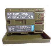 Bateria BP-511A 1500mAh para câmera digital e filmadora Canon EOS Digital SLR 5D, EOS Digital Rebel, PowerShot G3