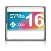 Cartão de memória CompactFlash Silicon Power 16GB 200x