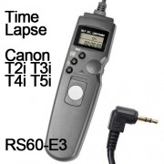 Cabo Disparador Remoto Time Lapse para Canon RS-60E3 TC1001