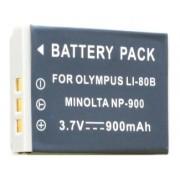 Bateria Li-80B para câmera digital e filmadora Olympus T-100, ,T-110, X960