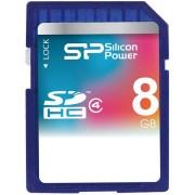 CARTÃO SDHC SILICON POWER 8GB CLASSE 4