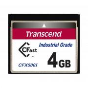 Cartão de memória INDUST TEMP CFAST CARD 4GB TS4GCFX500I 500x Industrial Grade