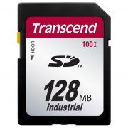 Cartão de Memória SD Transcend 128MB Industrial TS128MSD100I